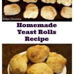 Homemade Yeast Rolls recipe is easier than you may think at intelligentdomestications.com