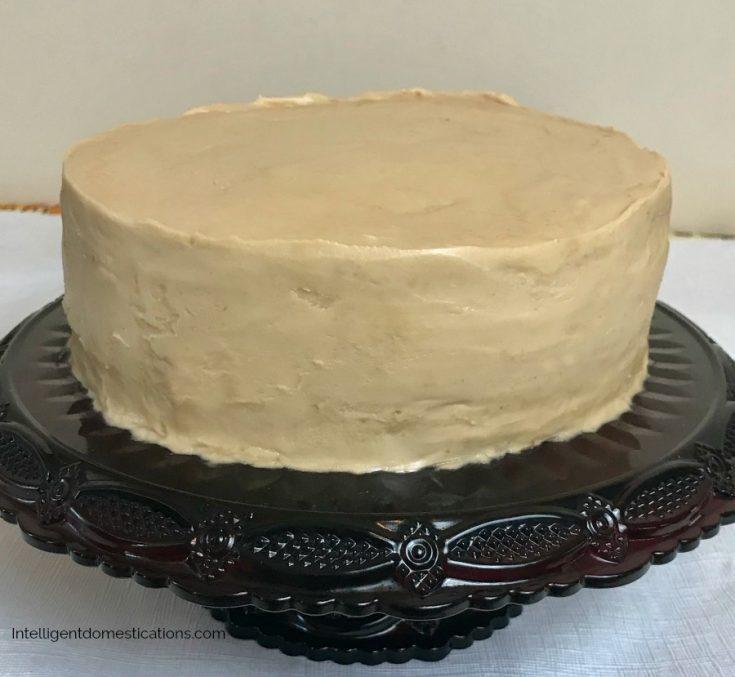 Caramel Cake & Caramel Icing Recipe