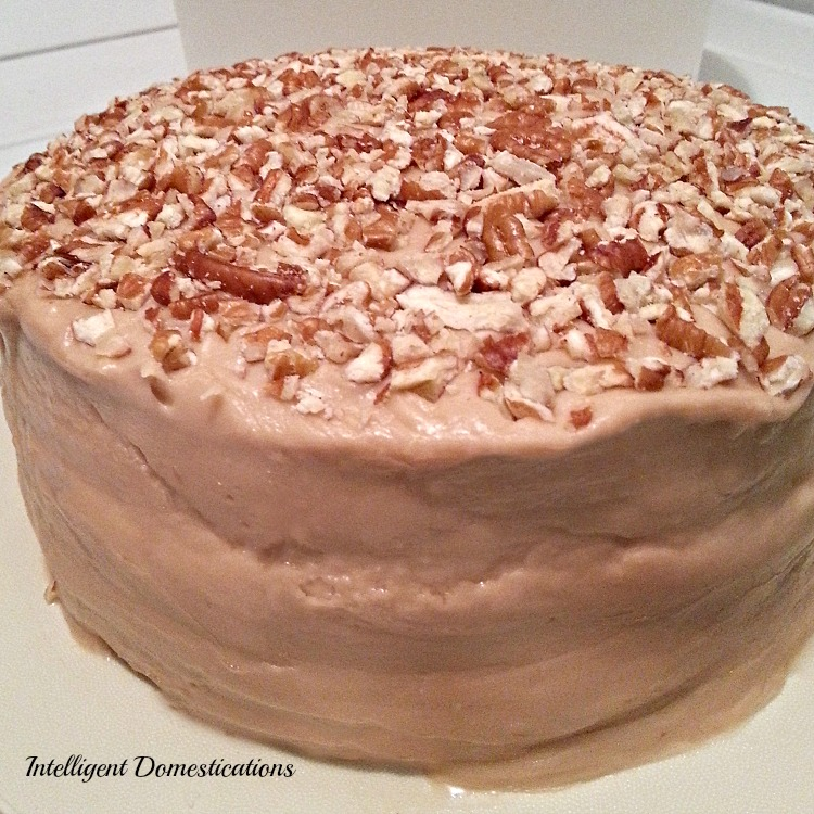 Caramel Cake with Caramel Icing recipe