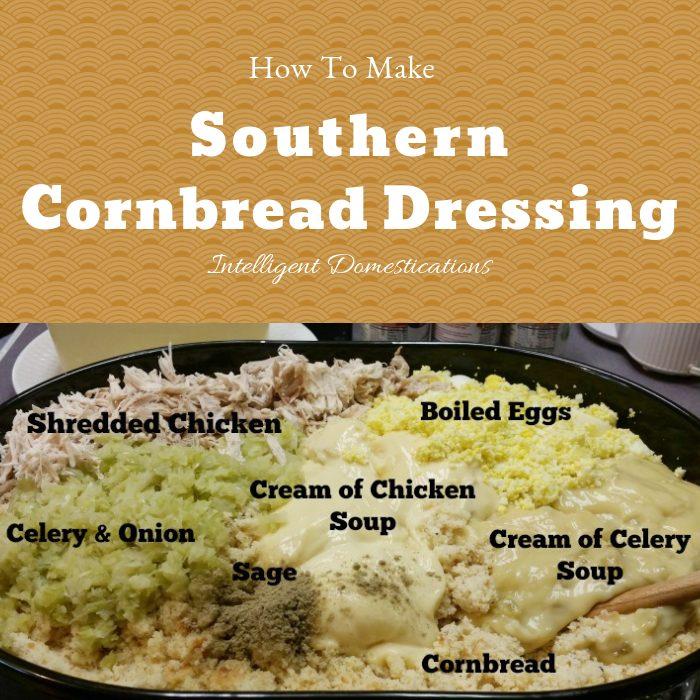 How to make Cornbread Dressing from scratch southern style. Southern Cornbread Dressing recipes. #Thanksgivingfood #CornbreadDressingrecipe