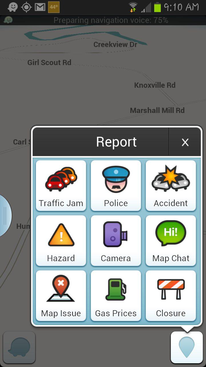 Waze, A Good Free Interactive GPS App