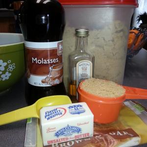 Butterscotch Glaze Ingredients