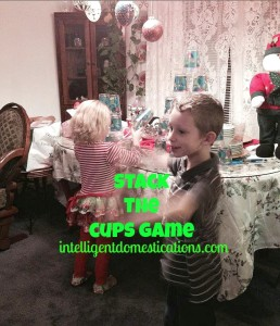 Family Friendly Indoor Party Games you can play at Christmas, birthdays or any celebration. Christmas party games for adults and children. Get ready to laugh because the Junk in the Trunk Game is hilarious! #partygames #indoorgames