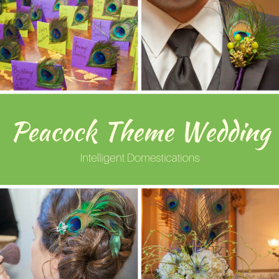 Peacock Theme Wedding Decor
