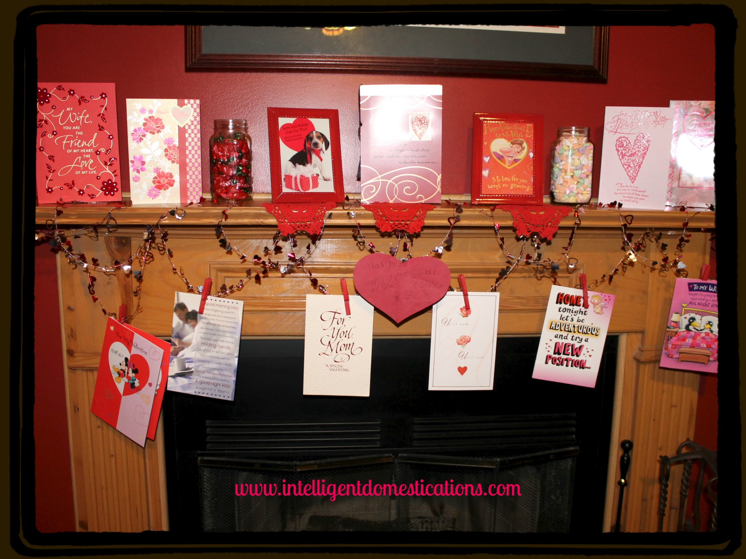 Valentine Mantlescape Intelligentdomestications.com