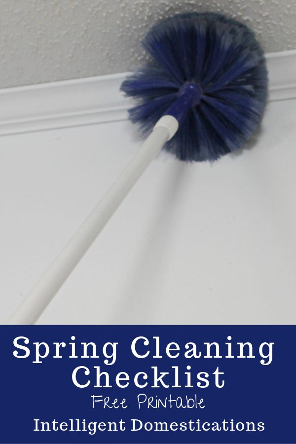 Use our free printable Spring Cleaning Checklist. It's the list we have used for close to 20 years in our residential cleaning business. #springcleaning