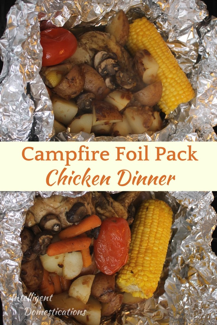 How to make a Foil Pack Chicken Dinner at home. Foil Pack Chicken Dinners just like Cracker Barrel.