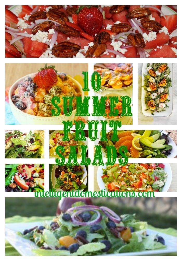 Summer Salad Series: Summer Fruit Salads