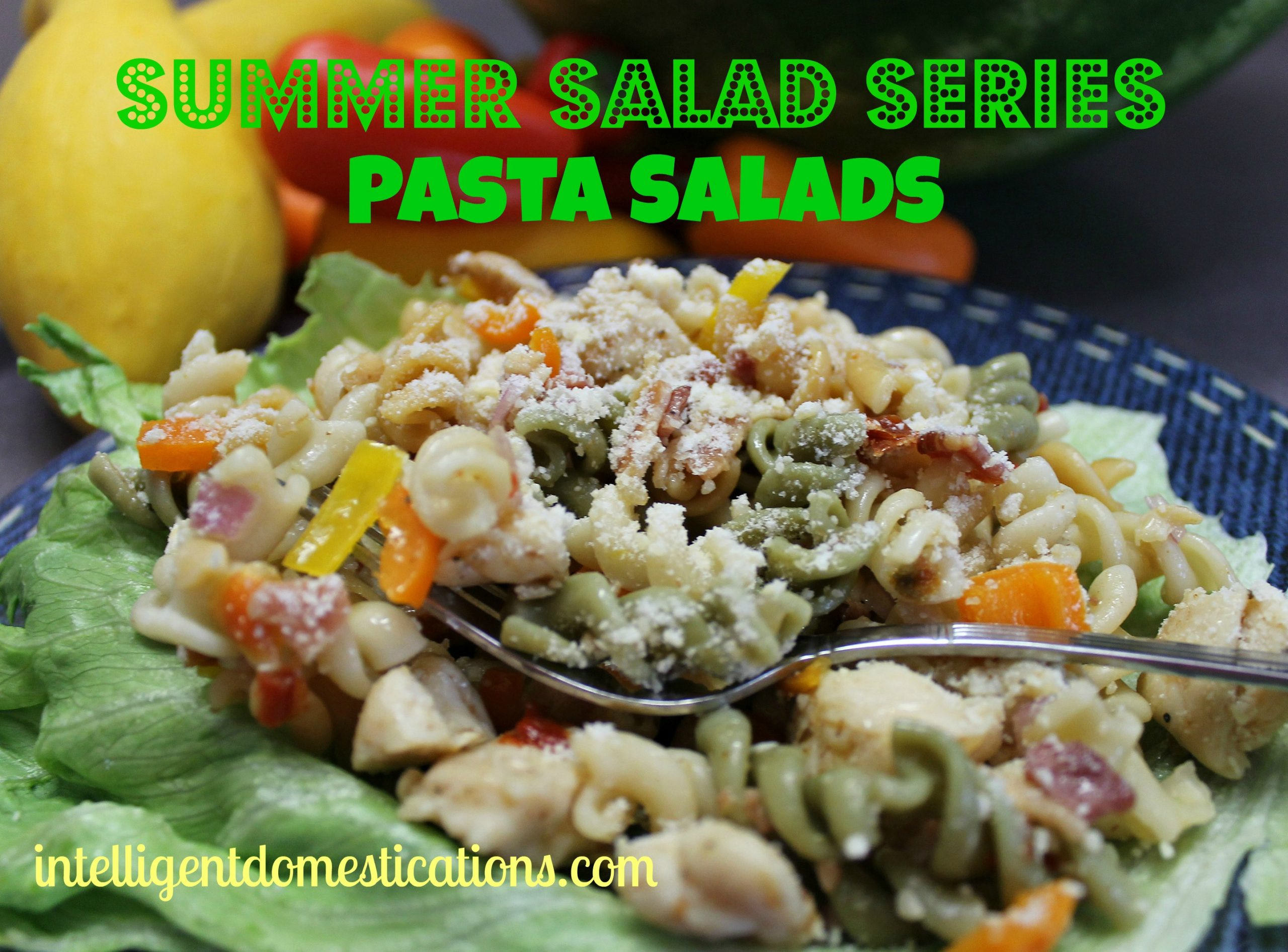 Summer Salad Series: 14 Popular Pasta Salads Including Easy Fixes for Boxed Salad Mixes