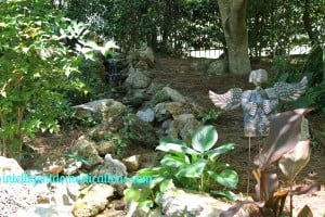 Water feature on slope.intelligentdomestications.com