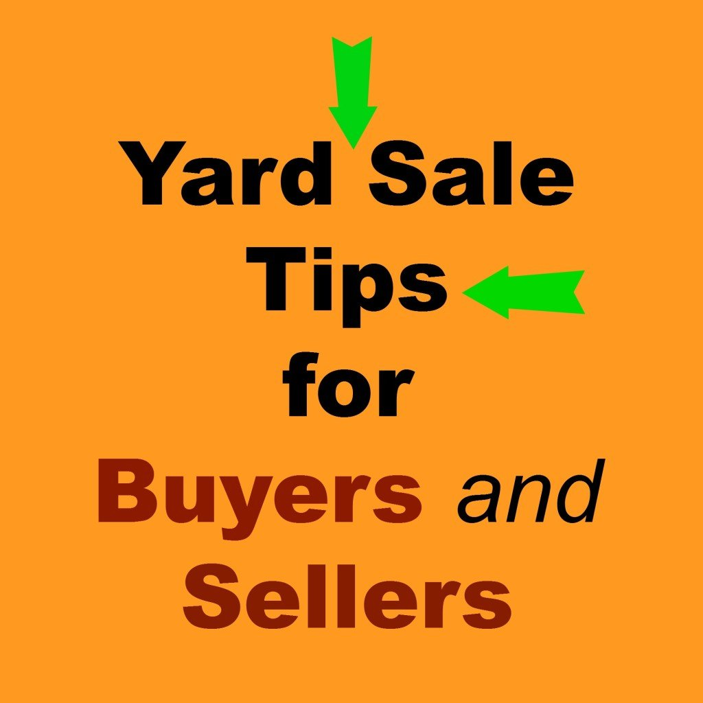 Yard Sale Tips for Buyers and Sellers.intelligentdomestications.com