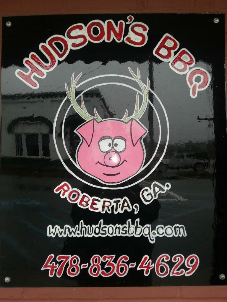 Hudson's- B-B-Q -Roberta,- Ga.
