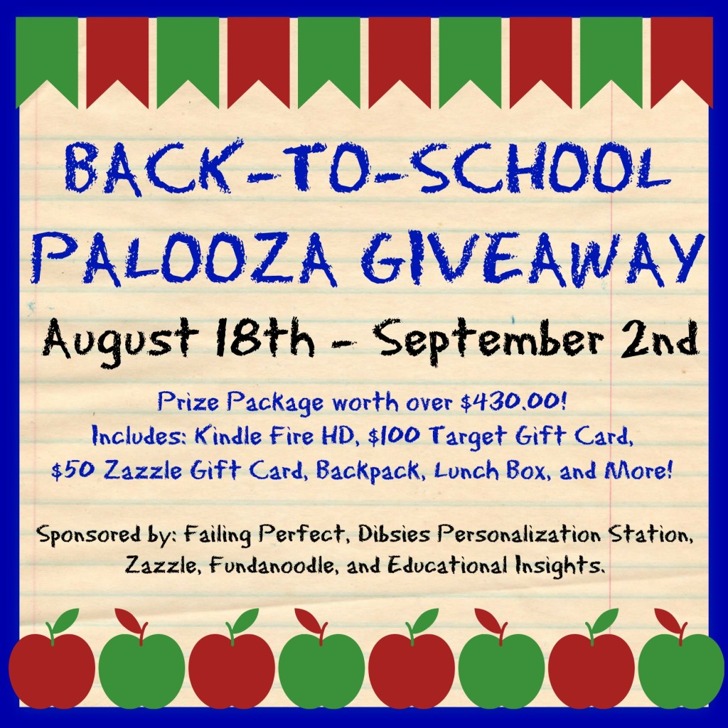 Back-to-School Giveaway Palooza
