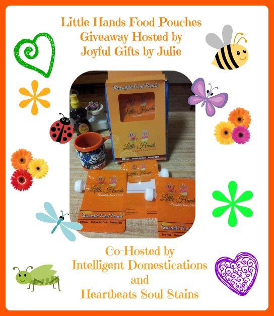 Little Hands Food Pouches Giveaway