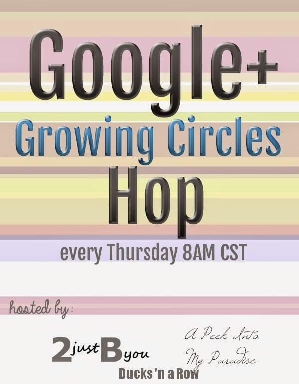 Google+ Growing Circles Hop & Instagram Hop
