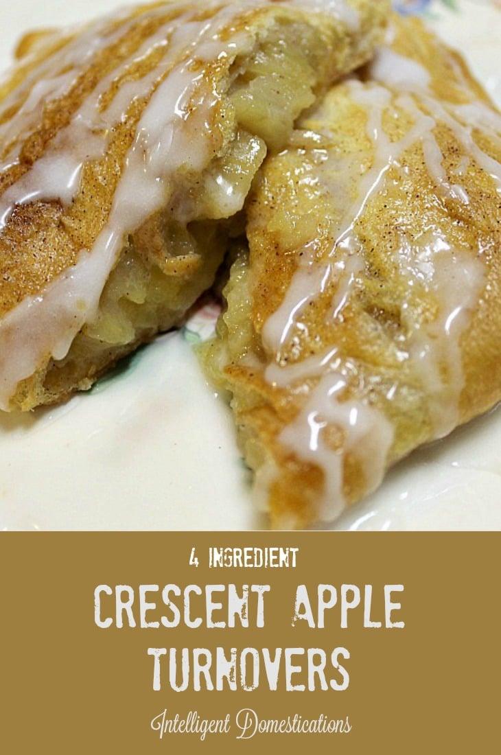 Crescent Apple Turnovers recipe