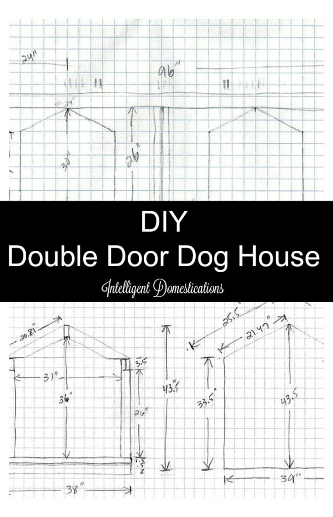 How To Build A Double Door Dog House