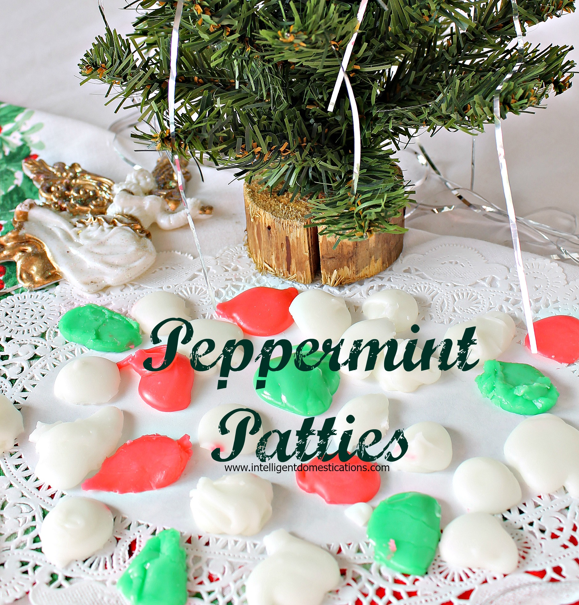 Homemade Peppermint Pattie Candies