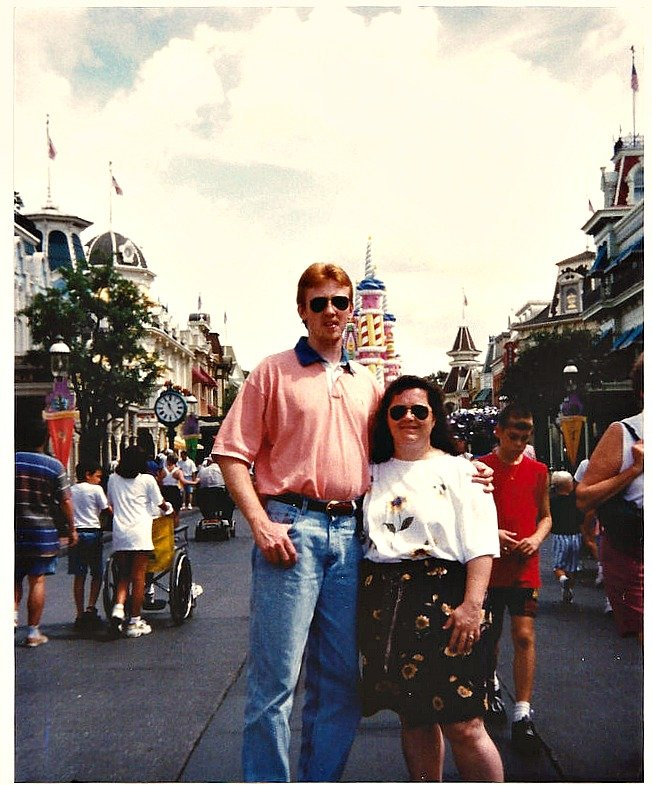 Honeymoon at Disney July 1997