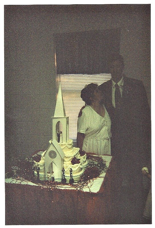 Our wedding cake July 11, 1997