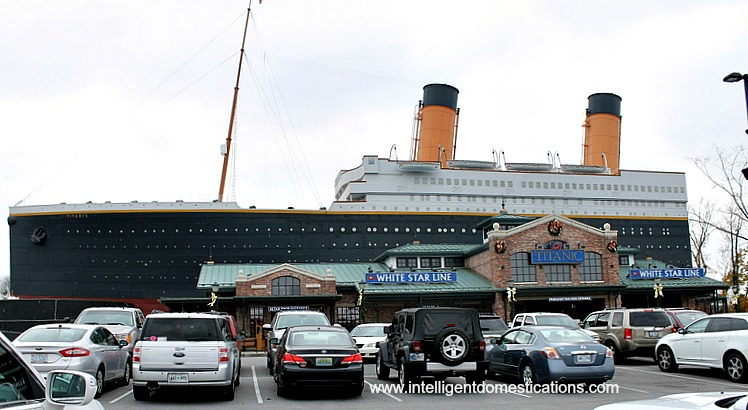 Titanic Museum. Pigeon Forge,Tenn. photo by intelligentdomestications.com