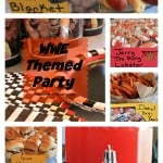 WWE Theme Party Ideas. This was our Wrestlemania party but these ideas will work for a WWE Birthday party also. Be sure to see our list of WWE Pun Name Food also.