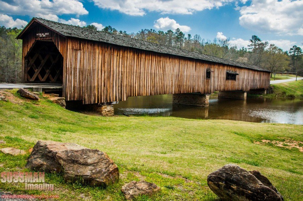 Watson Mill Bridge in Comer. photo by Sussman Imaging