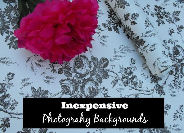 Inexpensive photography backgrounds