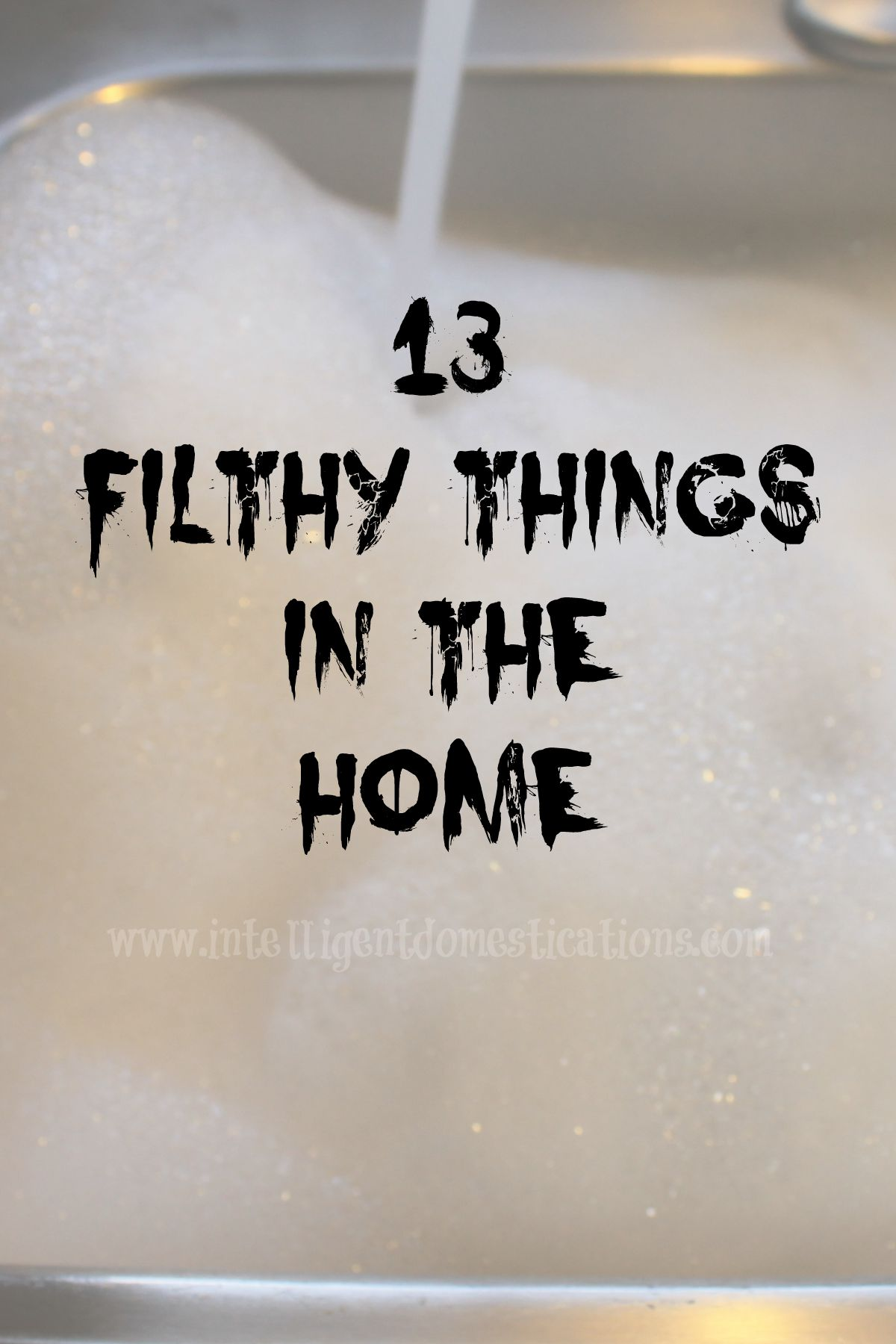 13 Filthy Things In The Home (Free Printable for Your Workplace)