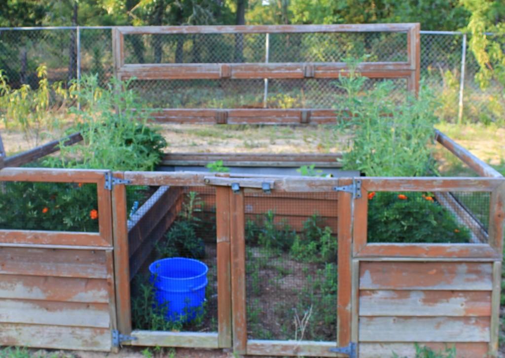 Cedar Above ground garden