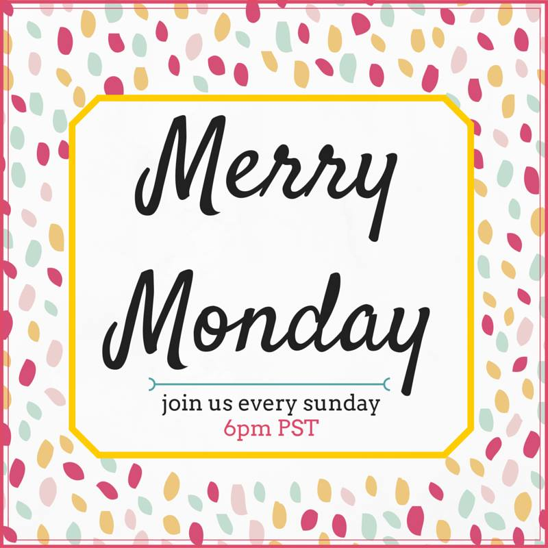 Merry Monday Link Party #99