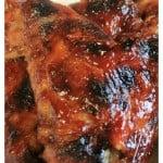 3 Ingredient Crockpot BBQ Chicken Wings.www.intelligentdomestications.com