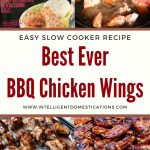 Step by step pictures of cooking BBQ Chicken Wings in the Slow Cooker