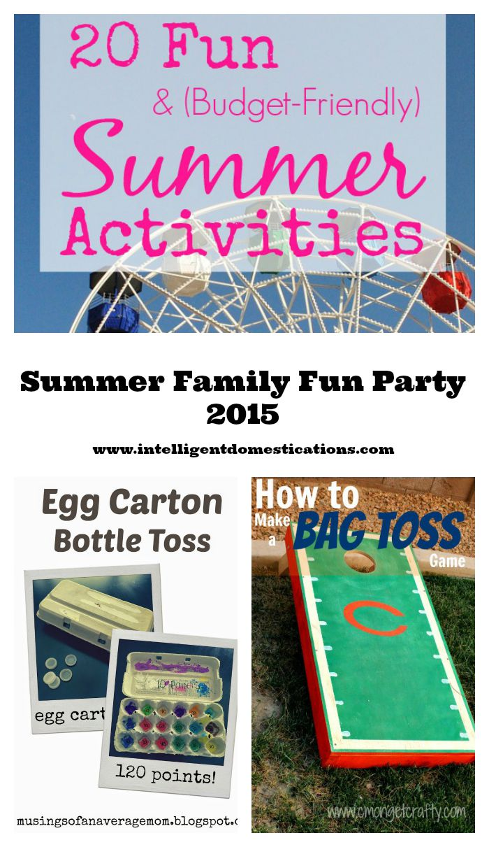 Summer Family Fun Linky Party Plus All Features for Summer 2015