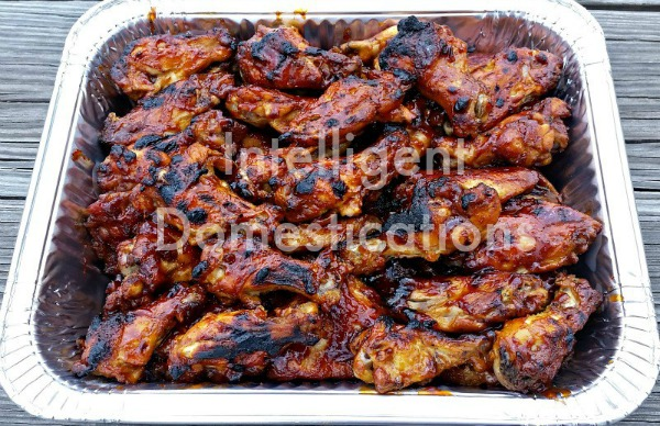 3 Ingredients Crockpot BBQ Chicken Wings