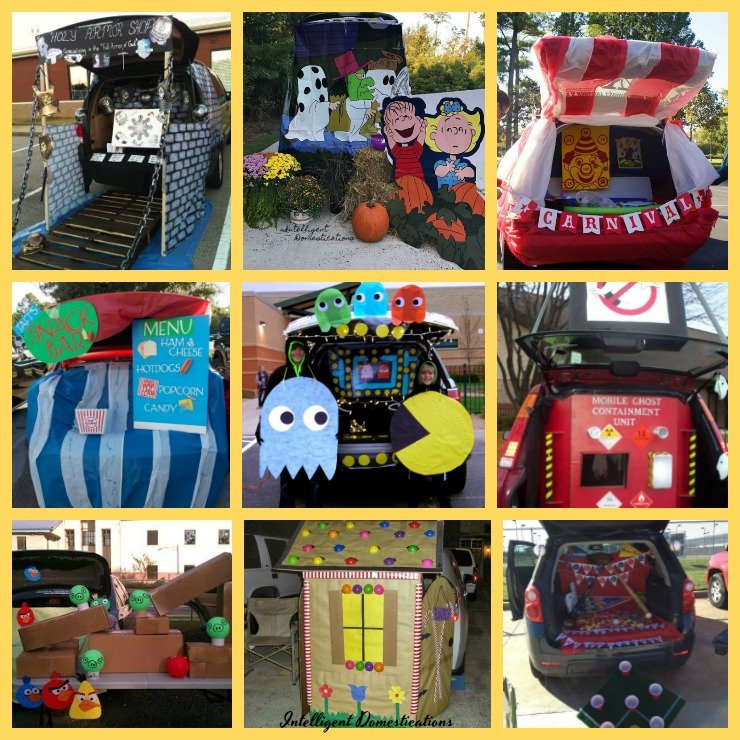Pictures of Trunk or Treat designs