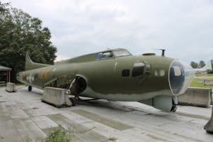B 17 at Museum of Aviation