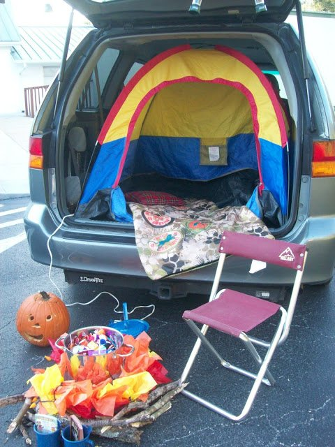 Camping Theme Trunk or Treat