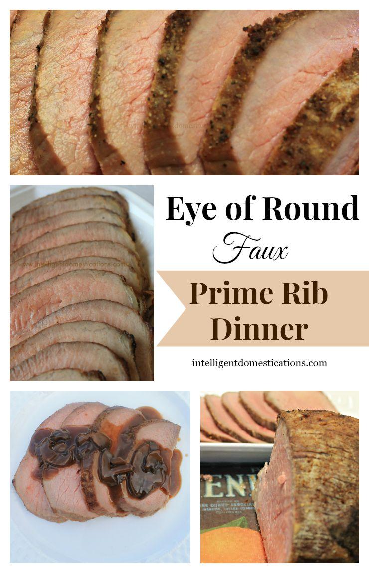 Faux Prime Rib Dinner