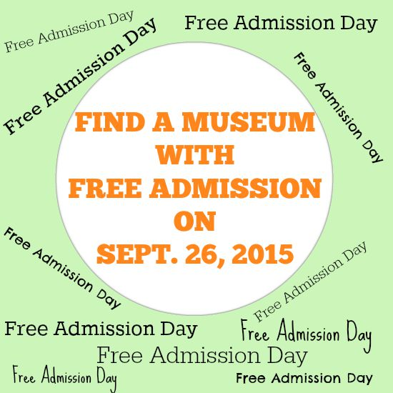 Find a museum with Free Admission on Sept. 26, 2015.intelligentdomestications.com