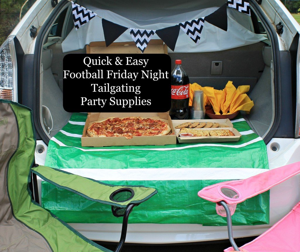 Tailgating Tips. Easy tips to make your football tailgating more relaxing and fun. #football #tailgating