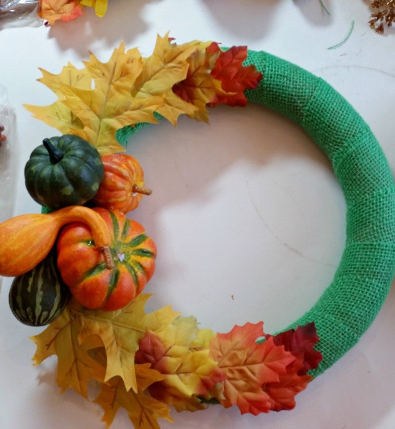 Cornucopia wreath project in the works.intelligentdomestications.com