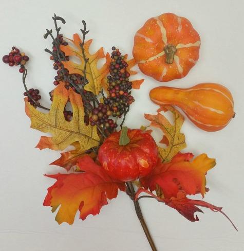 Fall pick for Cornucopia wreath