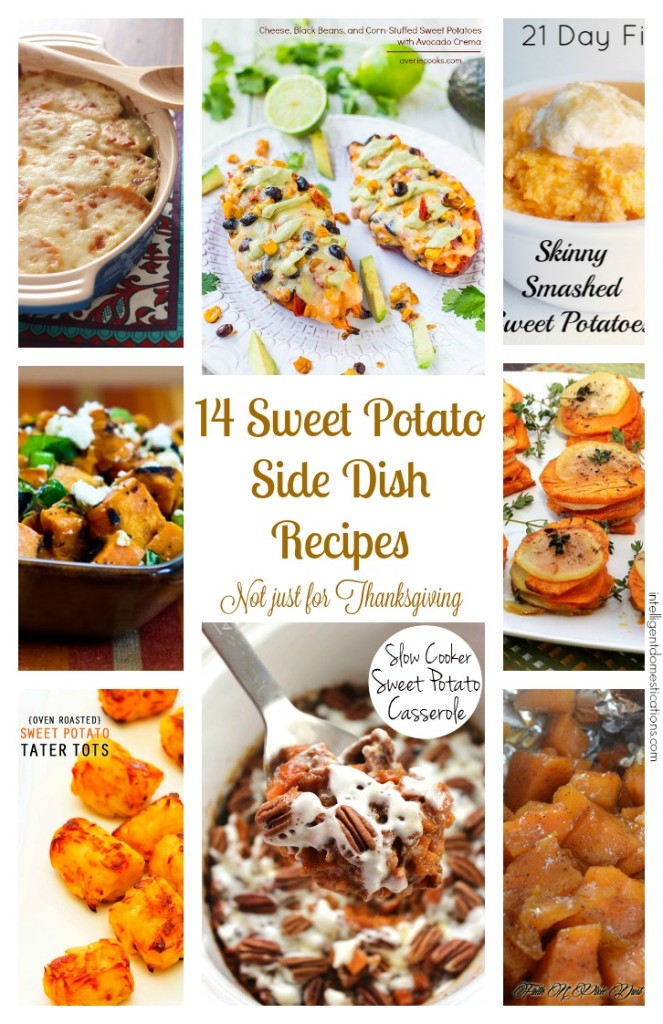 14 Sweet Potato Side Dishes for Thanksgiving