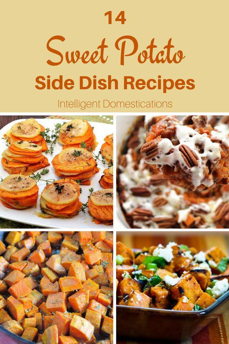 14 Sweet Potato Side Dish Recipes not just for Thanksgiving