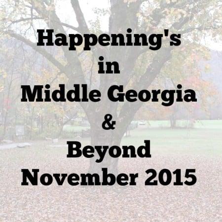 Happenings in Mid Ga and beyond Nov. 2015.intelligentdomestications.com