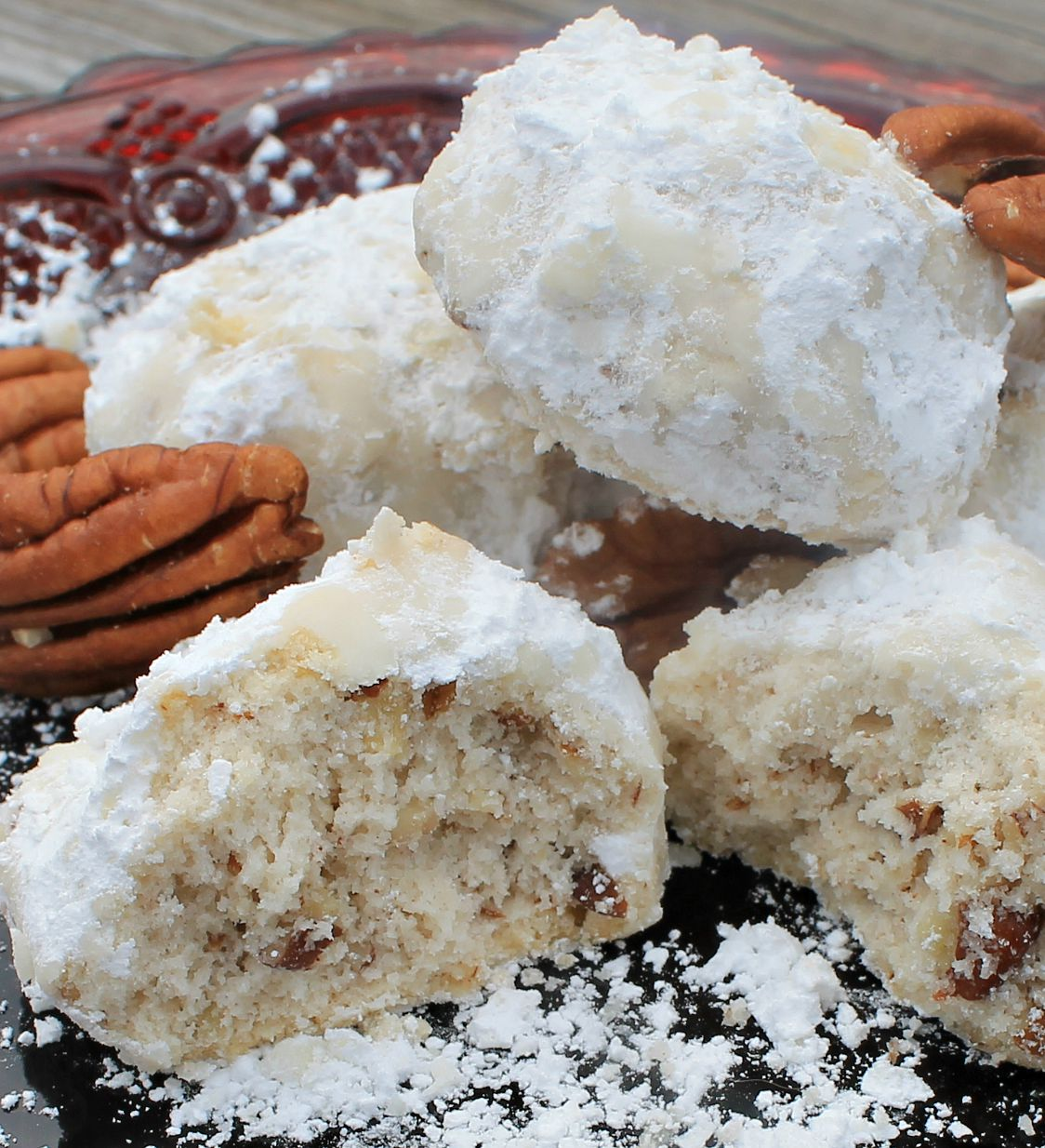 Pecan Snowball Cookie Recipes. Christmas cookies