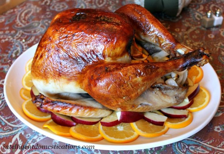Citrus & Herb Brine Roasted Turkey