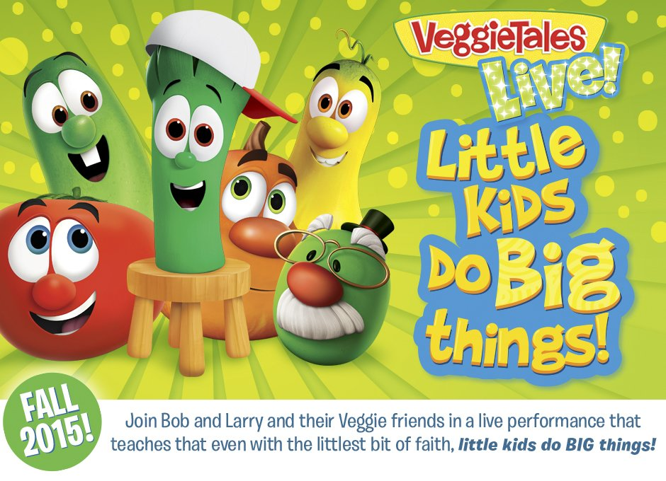 Veggie Tales Live at Grand Opera House in Macon