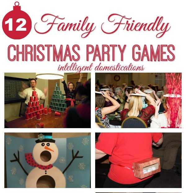 Family Friendly Party Games for 12 Days